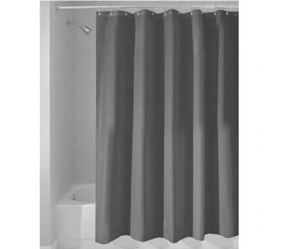 Charcoal College Shower Curtain Or Liner