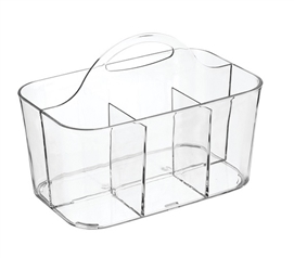Dorm Shower Tote - Compact Version Clear