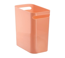 Compact Trash Can - Coral