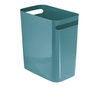 Compact Trash Can - Teal
