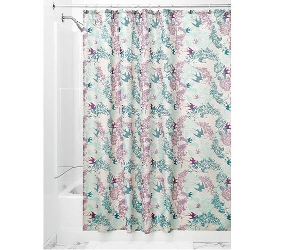 Josie Fabric Shower Curtain