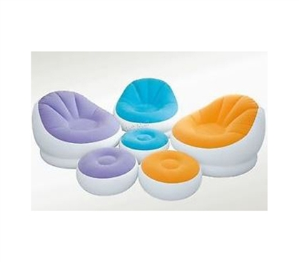 Inflatable Cafe College Chair And Ottoman