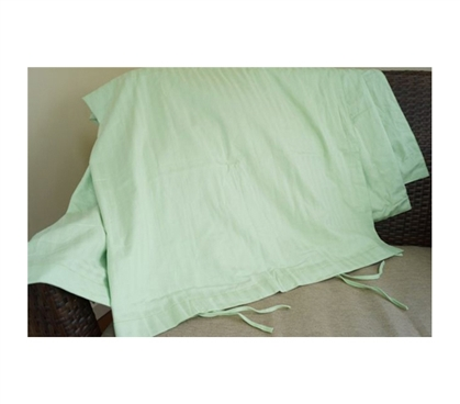 College Ave Twin XL 100% Cotton Duvet Cover - Lime Green Style Comforter Cover