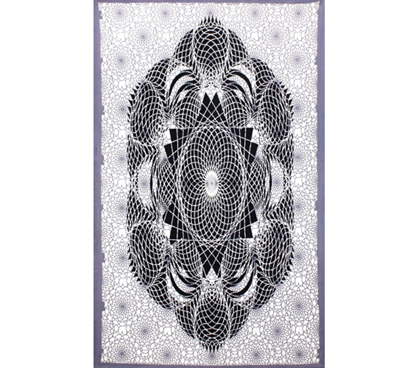 Cheap And Cool Decor - Dark Lotus Tapestry - Make Those Walls Look Better
