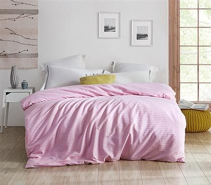 Pretty Pink Hue - Twin XL Duvet Cover - Keep Your Favorite Comforter Covered