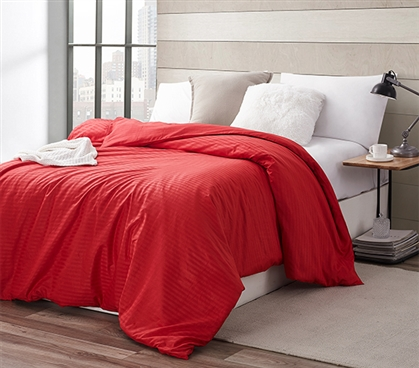 Make Every Layer Comfortable - Twin XL Duvet Cover - Cover Your Dorm Comforter