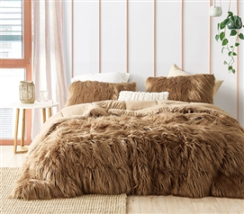 Grizzly Bear - Coma Inducer Twin XL Comforter - Toasted Coconut