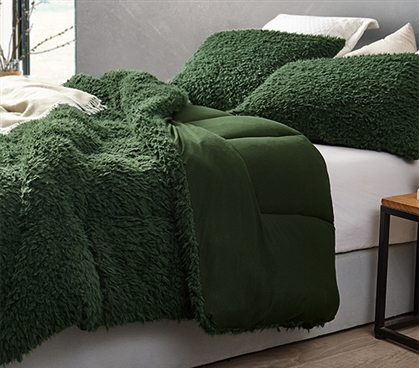 Grown Man Stuff - Coma Inducer Twin XL Comforter - Kombu Green