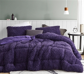 Queen of Sleep - Coma Inducer Twin XL Comforter - Purple Reign