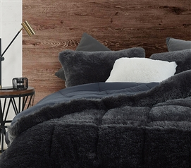 F-Bomb - Coma Inducer Twin XL Comforter - Faded Black