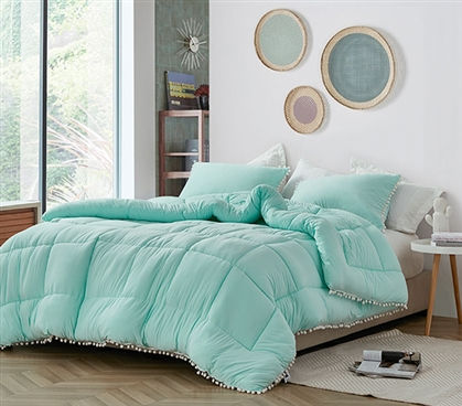Bare Bottom - Lightly Twin XL Comforter - Aruba