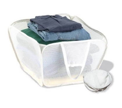 Pop Open Hamper - Saves Space