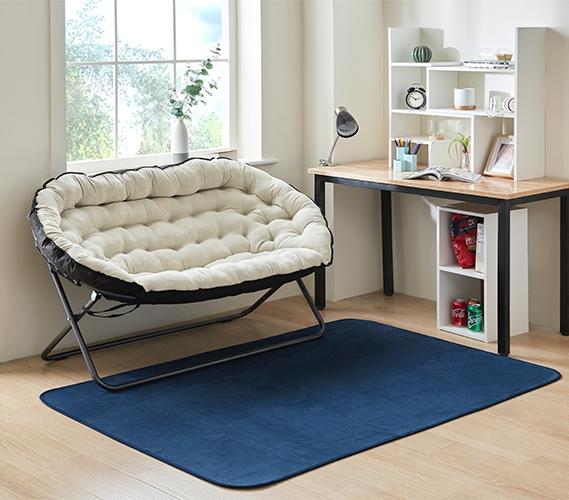 Papasan Dorm Sofa Beige Taupe