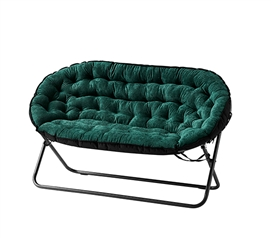 Papasan Dorm Sofa - Jasper Green