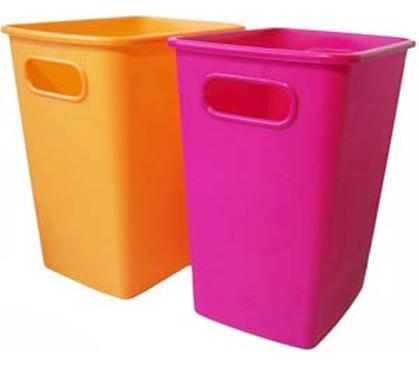 Fresh 5 Gallon College Wastebasket Dorm Room Living Necessities  CB25