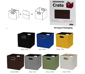 Fold N Store Collapsible Tote Crate