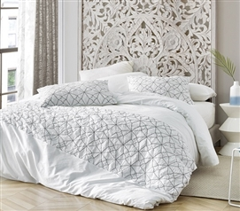 Divinity Textured Twin XL Duvet Cover