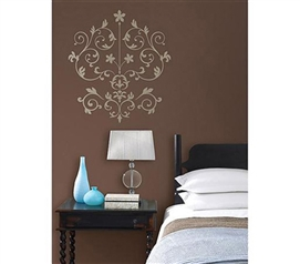 Nouveau Damask - Peel N Stick Dorm Decor From DormCo