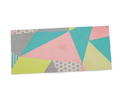 Dorm Essentials Pastel Geo Dorm Desk Mat Must Have Dorm Items