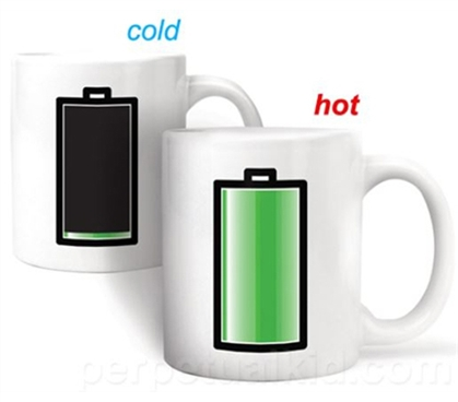 Coffee Mug That Changes With Heat