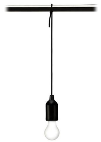 pull cord hanging lamp hang anywhere - Hanging Lamp