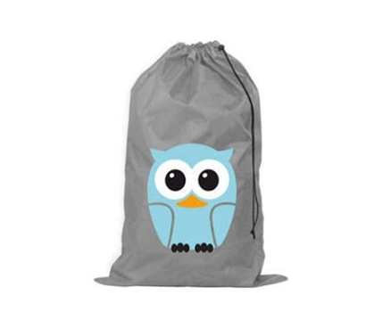 Dorm Supply - Darling Owl College Laundry Bag - Great Laundry Product