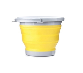 Collapsible Storage Bucket - Yellow