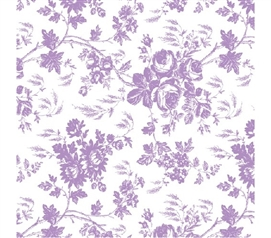 College Supplies Grip Print Shelf Liner - Toile Lavender