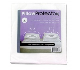 Dorm Pillow Protector - 2 Pack