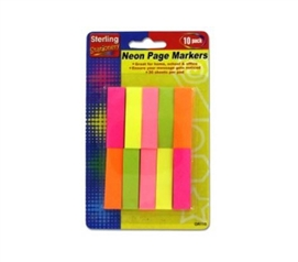 Neon Sticky Notes Pack
