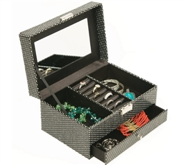 Dorm Room Decor - Large Jewelry Box Dorm Room Storage Dorm Essentials