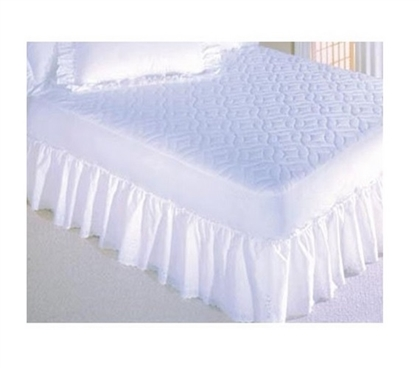 All Cotton Top Mattress Pad Twin Xl Sized For Student Twin