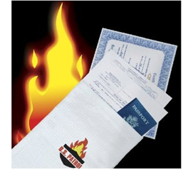 Fire Resistant Bag -  Fire-proof Safe - Keep Important Documents Safe