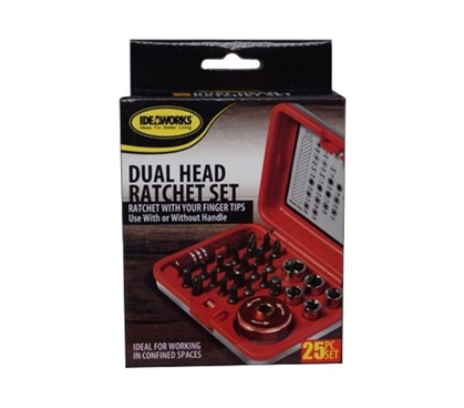 Dual Head Ratchet Set - 25 Pieces