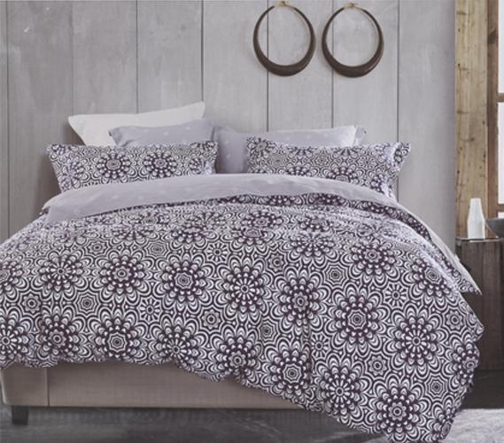 Designer Purple Twin Xl Comforter Set Dorm Necessities