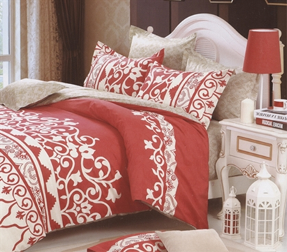 Designer Patterned Dorm Bedding Soft Extra Long Twin College Comforter