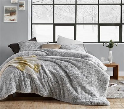 Coma Inducer Twin XL Comforter - Two Tone Limited Release - Wrought Iron