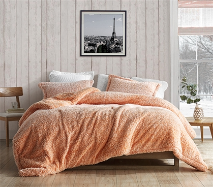 Coma Inducer Twin XL Comforter - Two Tone Limited Release - Orange Popsicle