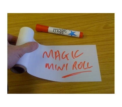 "Completely College Wall Safe - Incredible Magic Sticky Notes Mini Roll 4"" x 6"" (50 Sheets)"