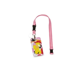 Cool College Supplies - Cotton Blossom Student ID Holder - Lanyard Style