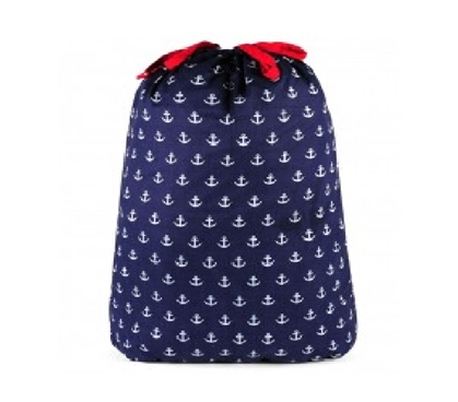 Anchors Navy - College Laundry Bag Dorm Laundry Bags