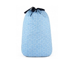 Martini Blue - College Laundry Bag Dorm Essentials College Supplies Dorm Room Decor