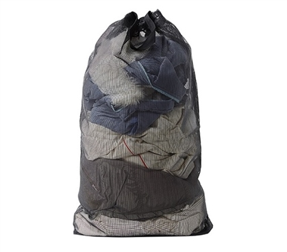 Canvas Mesh Laundry Bag - STRONGEST Dorm Laundry Bag Dorm Essentials