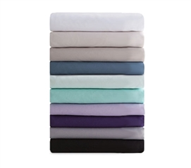 Microfiber Pillowcases (2-Pack) - College Dorm Bedding Twin XL Bedding Extra Long Twin Bedding College Pillowcases