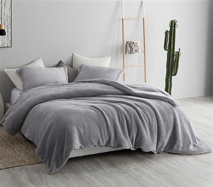 Coma Inducer Twin XL Duvet Cover - Me Sooo Comfy - Alloy