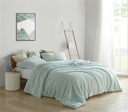 Coma Inducer Twin XL Duvet Cover - Me Sooo Comfy - Hint of Mint