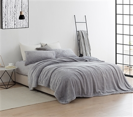 Coma Inducer Twin XL Sheets - Me Sooo Comfy - Alloy