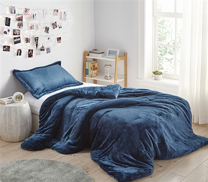 Coma Inducer Twin XL Comforter - Me Sooo Comfy - Nightfall Navy