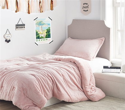 Coma Inducer Twin XL Comforter - Me Sooo Comfy - Rose Quartz