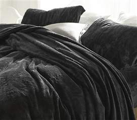 Me Sooo Comfy Twin XL Sheet Set - Faded Black
